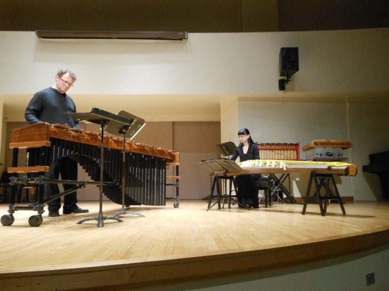 Ryan Scott percussion recital, University of Toronto, 2014