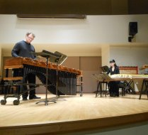 Ryan Scott percussion recital, University of Toronto, 2014