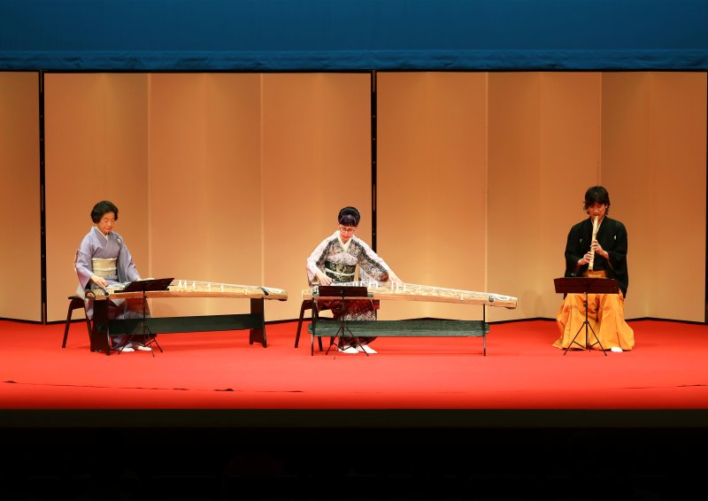 Yoshino Shizuka performed at the National Theatre of Japan, 2017 by Linda Kako Caplan