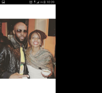 Pic with Mandoza kwaito star - South Africa