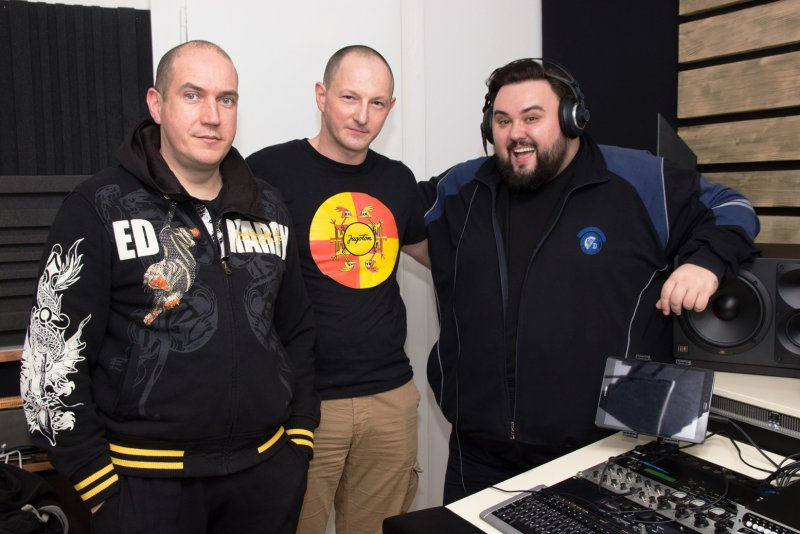 Jacques Houdek in Sven Gleđa studio