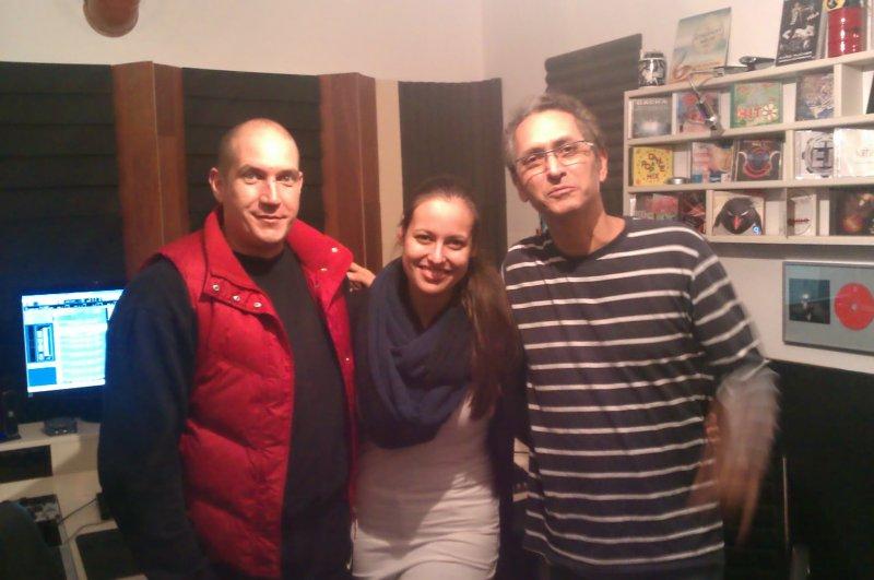 Sven Gleđa ,Maria Masle i Ricardo Luque