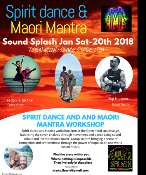 Spirit Dance and Maori fusion by RiQi Harawira