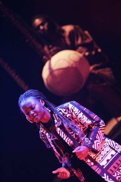 shula on stage by Shula Ndiaye