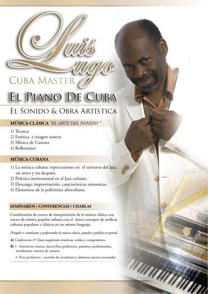 by Luis Lugo Cuban Concert  Pianist