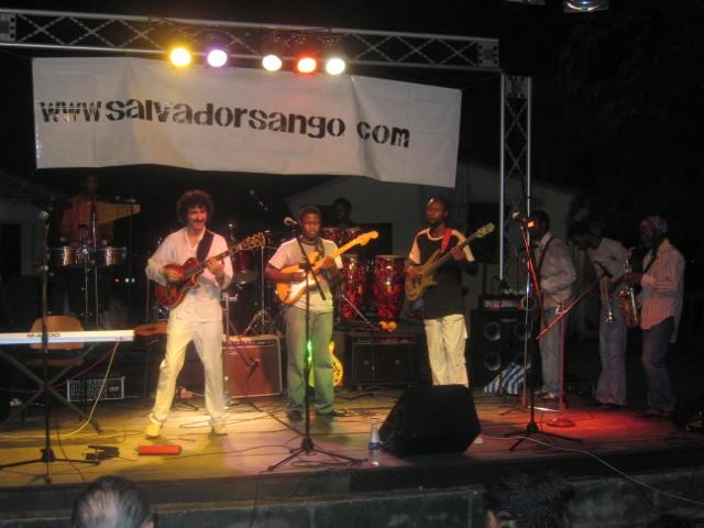 SALVADOR SANGO\' AT GOETHE INSTITUT LAGOS. NIGERIA