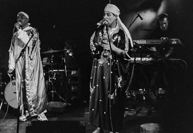 Gnawa Impulse on stage