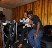 Behind Scenes Studio Session Upcoming Album