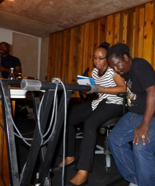 Behind Scenes Studio Session Upcoming Album by Wurl Rootz Band