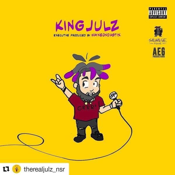 KING JULZ Cover Art New Album by KINGJULZ