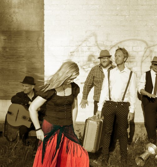 Band picture by Tibble Transsibiriska