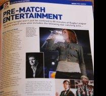 Pre Match Entertainment