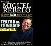 Miguel Rebelo no Teatro da Trindade