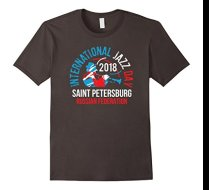 International Jazz Day St Petersburg, Russian Federation T-shirt