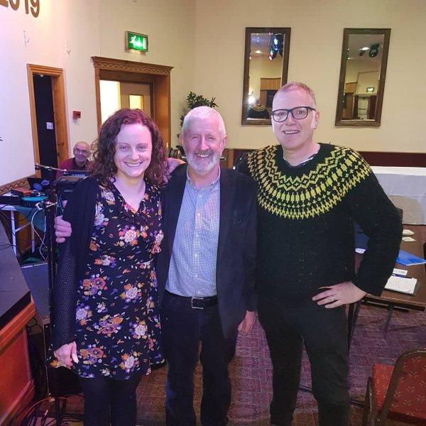 Liz Hanley & Michael Walsh Recording for RTE Ceili House (National Irish Radio)