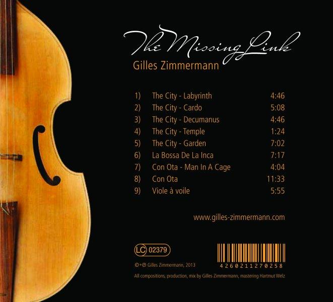 CD backcover