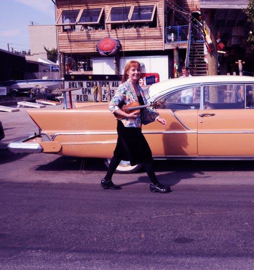 Cady Finlayson in Red Hook, Brooklyn