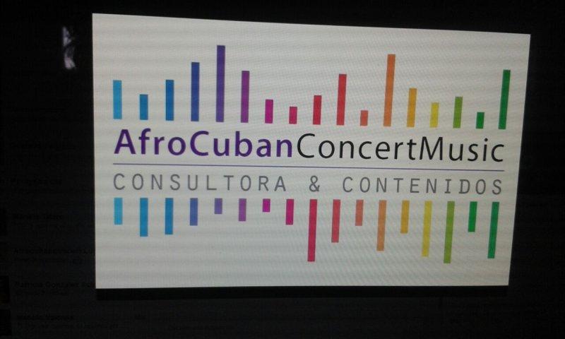 AfroCubanConcertMusic Contenidos artiisticos