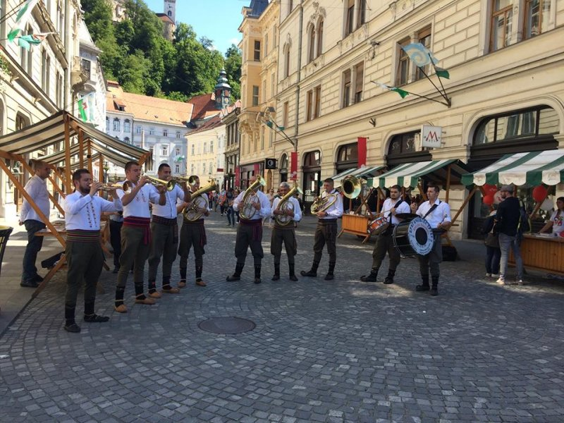 Dragacevske trube Brass Band